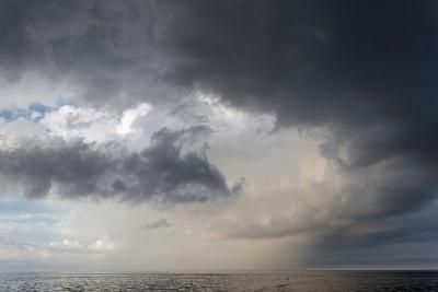 Storm Clouds over the Atlantic Ocean-Susan Degginger-Photographic Print