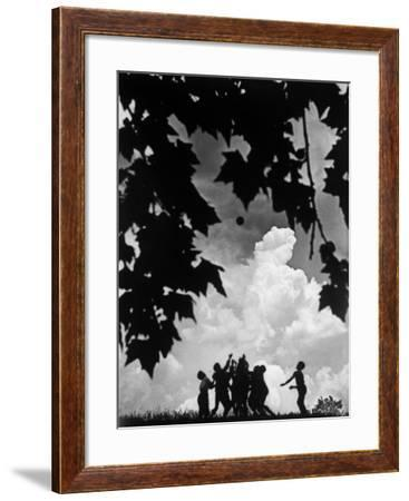 Storm Clouds--Framed Photographic Print