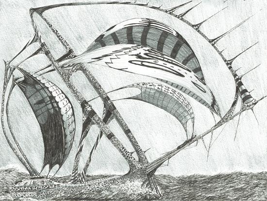 Storm Creators Laptev Sea, 2017-Vincent Alexander Booth-Giclee Print