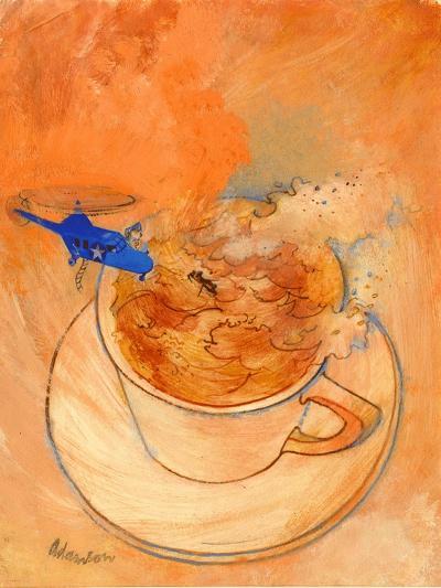 Storm in a Teacup, 1970s-George Adamson-Giclee Print