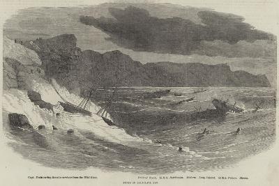 Storm in Balaclava Bay--Giclee Print