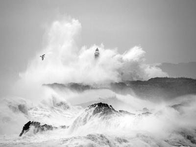 Storm in Cantabria-Marina Cano-Art Print