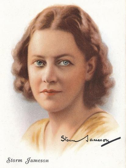 Storm Jameson, 1937-Unknown-Giclee Print