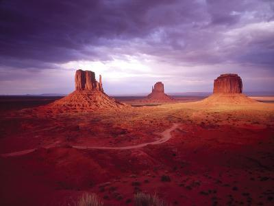 Storm Monument Valley UT \ AZ USA--Photographic Print