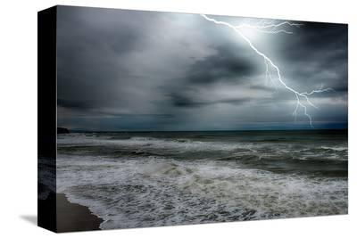 Storm on the Sea--Stretched Canvas Print