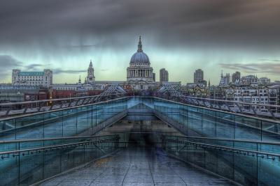 Storm over St. Paul's-Joe Reynolds-Photographic Print