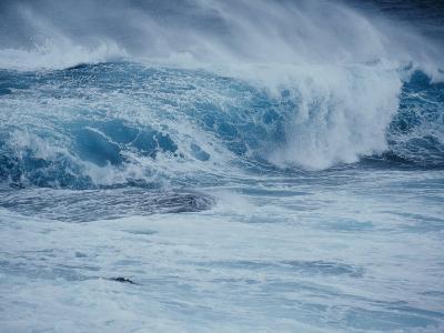 Storm Waves Crash on Rocks at Green Cape in Ben Boyd National Park-Jason Edwards-Photographic Print