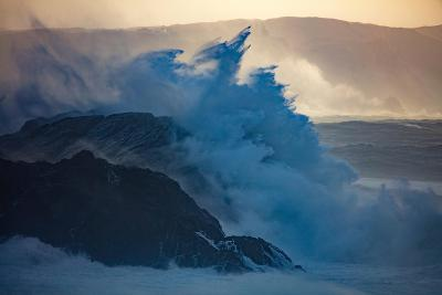 Storm Waves on the Coast of Achill Island, County Mayo, Ireland-Gareth McCormack-Photographic Print