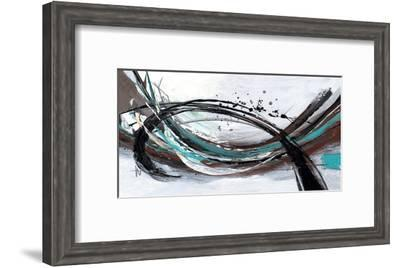 Storm-Lucy Cloud-Framed Art Print