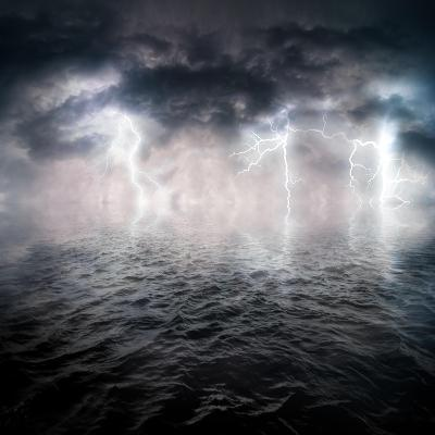 Storm-ongap-Art Print