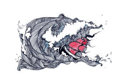 Storm-okalinichenko-Art Print