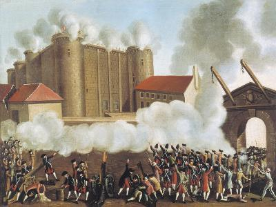 Storming of Bastille, July 14, 1789, French Revolution, France--Giclee Print