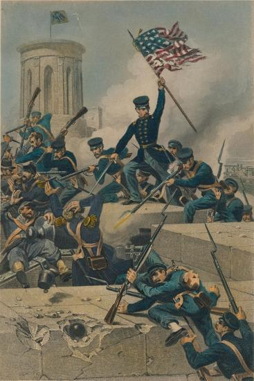Storming of Chapultepec, 1877-Unknown-Giclee Print