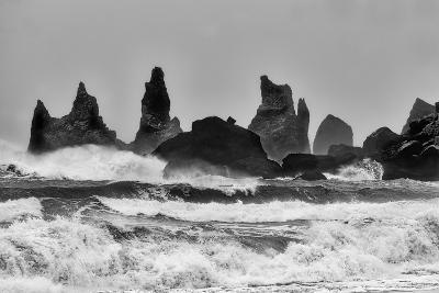 Stormy Beach-Alfred Forns-Photographic Print
