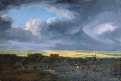 Stormy Landscape, 1795-Georges Michel-Giclee Print