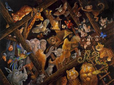 Stormy Night-Bill Bell-Giclee Print