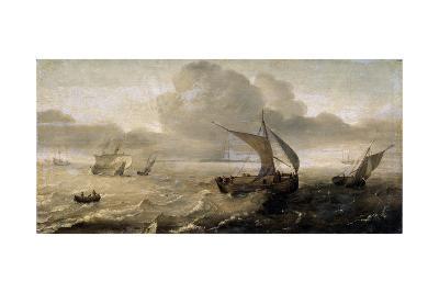 Stormy Sea, 17th Century-Hans Goderis-Giclee Print