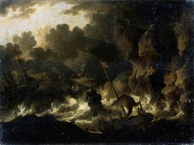 Stormy Sea, 17th Century--Giclee Print