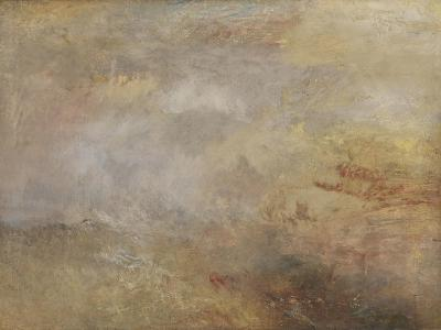 Stormy Sea with Dolphins-J^ M^ W^ Turner-Giclee Print