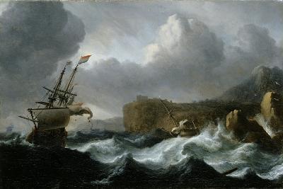 Stormy Sea-Ludolf Backhuysen-Giclee Print