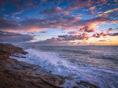 Stormy Sea-Marco Carmassi-Photographic Print
