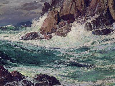 Stormy Seas, 1923-Edward Henry Potthast-Giclee Print