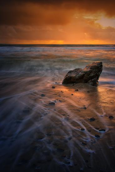 Stormy Seascape at Pfeiffer Beach, Big Sur, California Coast-Vincent James-Photographic Print