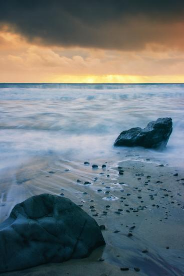 Stormy Seascape at Pfeiffer Beach Big Sur California Coast-Vincent James-Photographic Print