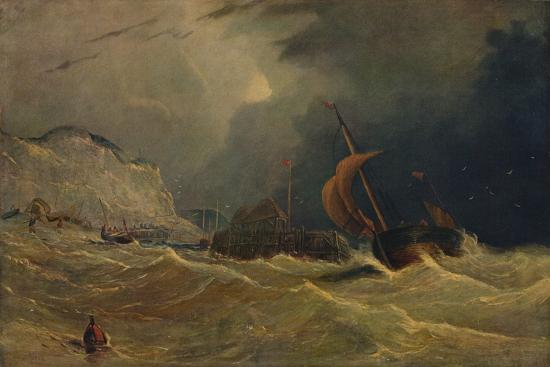 'Stormy Seascape', c1830, (1938)-Unknown-Giclee Print