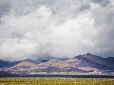 Stormy Sky over Death Valley Badlands-Rudy Sulgan-Photographic Print