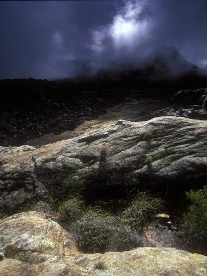 Stormy Sunset in the Cederberg Wilderness Area, South Africa-Keith Ladzinski-Photographic Print