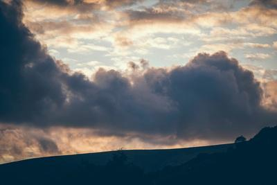 Stormy Sunset-Clive Nolan-Photographic Print
