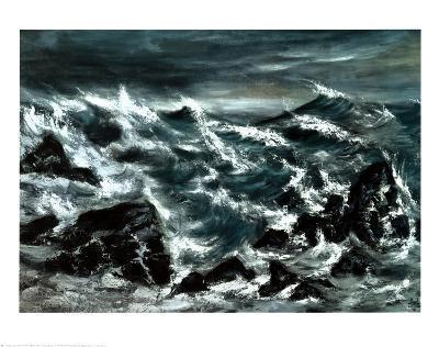 Stormy Waters-Anna Cohran-Art Print