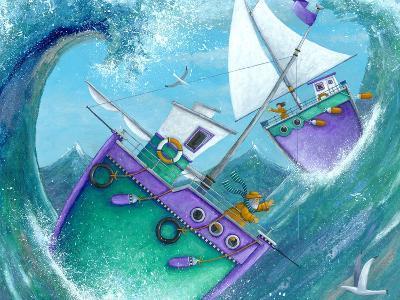 Stormy Weather (Variant 1)-Peter Adderley-Art Print
