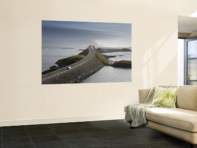 Storseisundbrua Bridge, the Atlantic Road, Romsdal, Norway-Peter Adams-Wall Mural