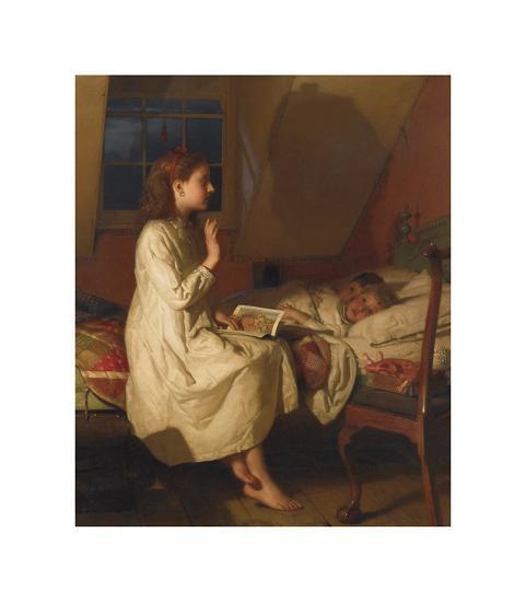 Story of Golden Locks, c.1870-Seymour Joseph Guy-Premium Giclee Print