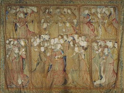 Story of the Life of the Virgin Mary Flemish Tapestry--Giclee Print