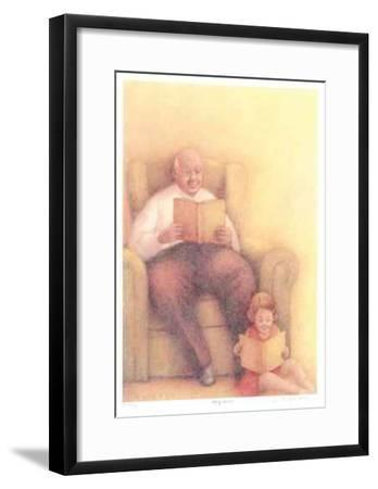 Story Time-Heather Graham-Framed Limited Edition