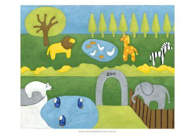 Storybook Zoo-Chariklia Zarris-Art Print