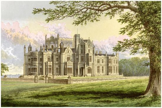 Stourton, Yorkshire, Home of Lord Stourton, C1880-AF Lydon-Giclee Print
