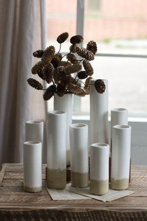 Stovepipe Bud Vase Set