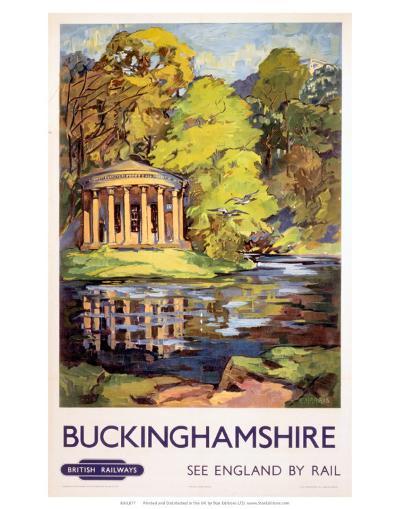 Stowe, Buckinghamshire, BR (ER), c.1950s--Art Print