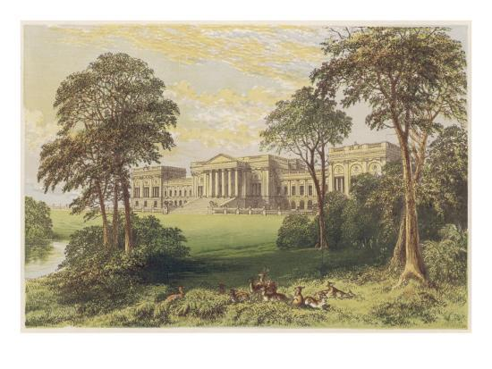 Stowe, Buckinghamshire--Giclee Print