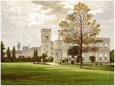 Stowlangtoft Hall, Suffolk, Home of the Wilson Family, C1880-Benjamin Fawcett-Giclee Print