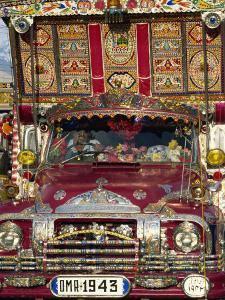 Decorated Lorry, Gilgit, Pakistan by Strachan James