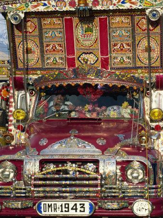 Decorated Lorry, Gilgit, Pakistan