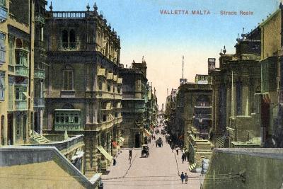 Strada Reale, Valletta Malta, 20th Century--Giclee Print
