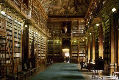 Strahov Monastery, Library, Prague, Czech Republic