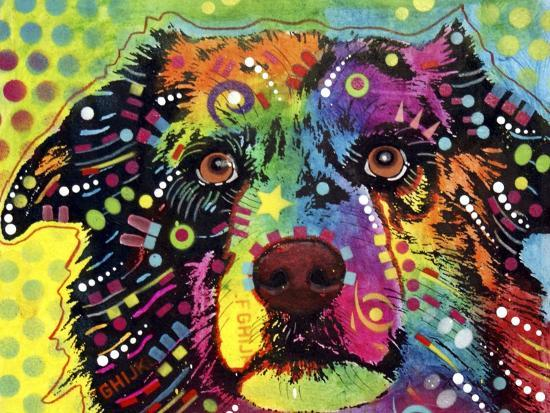 Straight Aussie-Dean Russo-Giclee Print