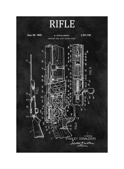 Straight Full Bolt Action Rifl-Dan Sproul-Giclee Print